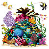 CORAL REEF PROP PARTY SUPPLIES