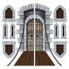 CASTLE DOOR & WINDOW PROPS PARTY SUPPLIES