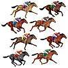 RACE HORSE PROPS PARTY SUPPLIES