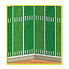 FOOTBALL FIELD BACKDROP PARTY SUPPLIES