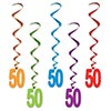 50 WHIRLS (30/CS) PARTY SUPPLIES