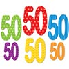 50 CUTOUTS (72/CS) PARTY SUPPLIES