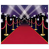 RED CARPET INSTANT MURAL PARTY SUPPLIES