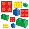 BUILDING BLOCKS CUTOUTS (240/CS) PARTY SUPPLIES