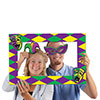 MARDI GRAS PHOTO FUN FRAME (12/CS) PARTY SUPPLIES