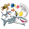 UNDER THE SEA PROPS (6/CS) PARTY SUPPLIES