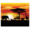 SAFARI INSTA-MURAL (6/CS) PARTY SUPPLIES