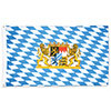 BAVARIAN FLAG (12/CS) PARTY SUPPLIES