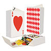 DECK OF CARDS FAVOR BOXES (36/CS) PARTY SUPPLIES