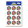 STICKERS-INTERNATIONAL (24/CS) PARTY SUPPLIES