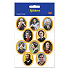 FACES IN HISTORY STICKERS PARTY SUPPLIES
