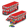 DOUBLE DECKER BUS CENTERPIECE (12/CS) PARTY SUPPLIES