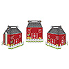 DISCONTINUED BARN FAVOR BOXES PARTY SUPPLIES