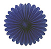 MINI TISSUE FANS - BLUE (72/CS) PARTY SUPPLIES
