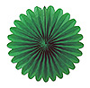 MINI TISSUE FANS - GREEN (72/CS) PARTY SUPPLIES