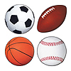 SPORTS CUTOUTS (48/CASE) PARTY SUPPLIES
