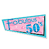 FABULOUS 50'S CUTOUT PARTY SUPPLIES