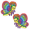 BUTTERFLY CUTOUTS (24/CS) PARTY SUPPLIES