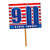 9/11 YARD SIGN (6/CASE) PARTY SUPPLIES