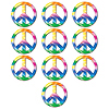 MINI PEACE SIGN CUTOUTS PARTY SUPPLIES
