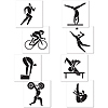 SUMMER SPORTS CUTOUTS PARTY SUPPLIES