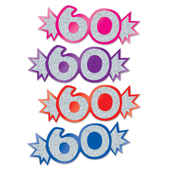 PARTY SUPPLIES Info Category BULK 60TH BIRTHDAY DECORATIONS