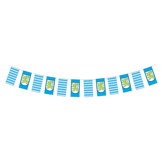 OKTOBERFEST PENNANT BANNER (12/CS) PARTY SUPPLIES