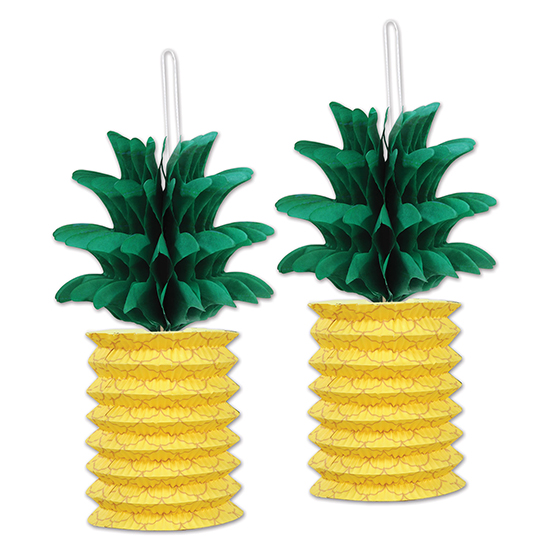 PINEAPPLE PAPER LANTERNS PARTY SUPPLIES