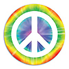 PEACE SIGN CUTOUT PARTY SUPPLIES