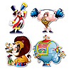 CIRCUS CUTOUTS PARTY SUPPLIES