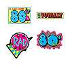 AWESOME 80'S CUTOUTS PARTY SUPPLIES