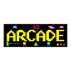 ARCADE SIGN PARTY SUPPLIES