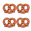 PRETZEL CUTOUTS (48/CS) PARTY SUPPLIES