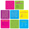 PARTY PUZZLE COASTERS (96/CS) PARTY SUPPLIES