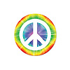 PEACE SIGN COASTERS (96/CS) PARTY SUPPLIES