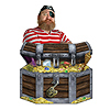 TREASURE CHEST STAND-UP (6/CS) PARTY SUPPLIES