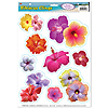 HIBISCUS CLINGS (12/CS) PARTY SUPPLIES