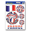 PEEL 'N PLACE-FRANCE (12/CS) PARTY SUPPLIES