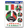 PEEL 'N PLACE-ITALY (12/CS) PARTY SUPPLIES