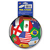 PEEL 'N PLACE BALL INTERNATIONAL (12/CS) PARTY SUPPLIES