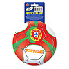 PEEL 'N PLACE BALL PORTUGAL (12/CS) PARTY SUPPLIES
