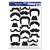 MOUSTACHES PEEL 'N PLACE PARTY SUPPLIES