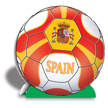 Click for larger picture of 3-D CENTERPIECE-SPAIN (12/CS) PARTY SUPPLIES