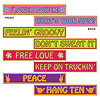 60'S STREET SIGN CUTOUTS (48/CS) PARTY SUPPLIES