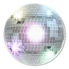 DISCO BALL CUTOUT PARTY SUPPLIES