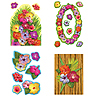 HIBISCUS CUTOUTS (216/CS) PARTY SUPPLIES