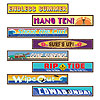 SURFER STREET SIGN CUTOUTS (48/CS) PARTY SUPPLIES