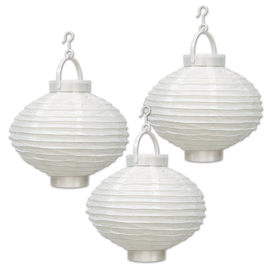 LIGHT-UP PAPER LANTERNS PARTY SUPPLIES
