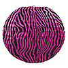 ZEBRA PRINT PAPER LANTERNS C-B (18/CS) PARTY SUPPLIES