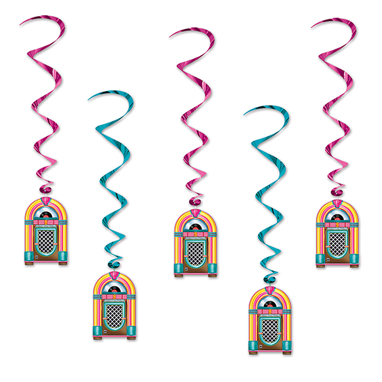 JUKEBOX WHIRLS PARTY SUPPLIES